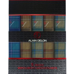 ALAIN DELON - 5 HANKY (ADH502) BEST BUY